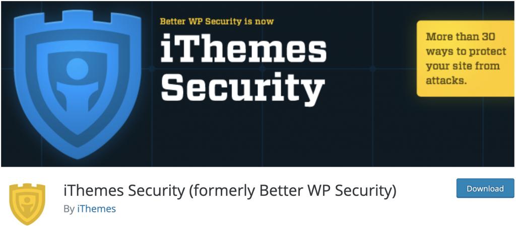 دانلود پلاگین وردپرس ithemes security