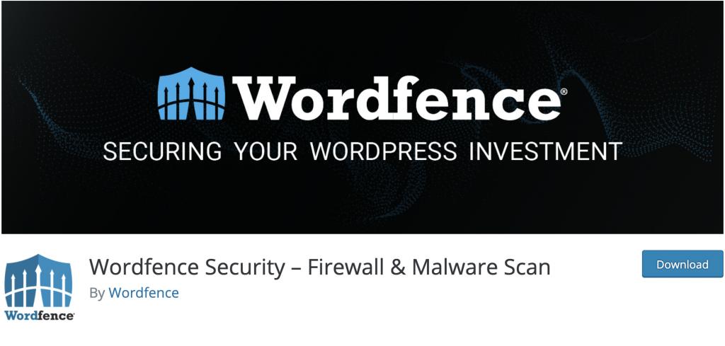 دانلود پلاگین وردپرس security wordfence