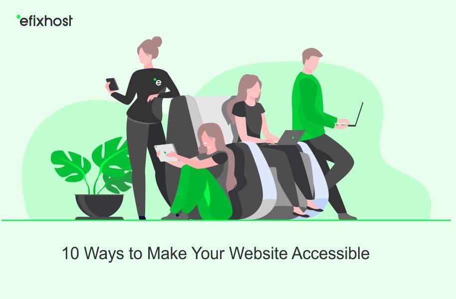 افزایش دسترسی سایت website accessibility