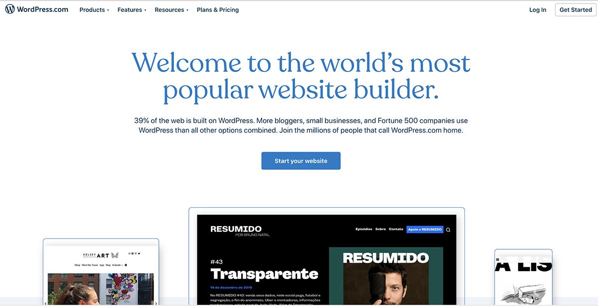 تفاوت wordpress.com و wordpress.org