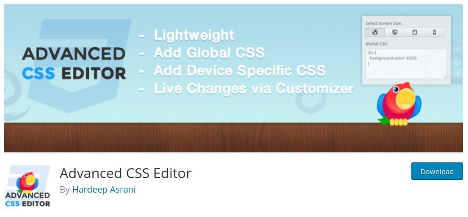 پلاگین-advanced-css-editor