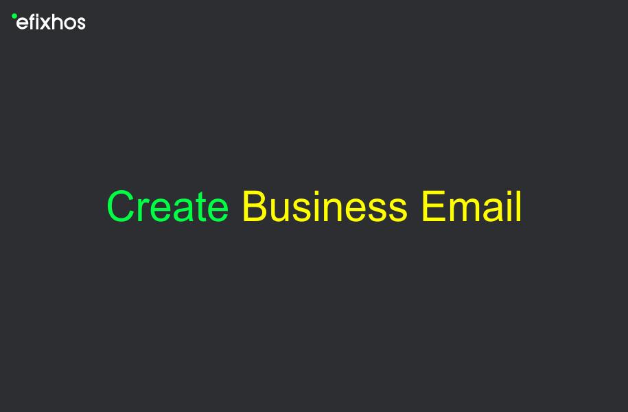 ایجاد ایمیل تجاری با خرید هاست ایمیل