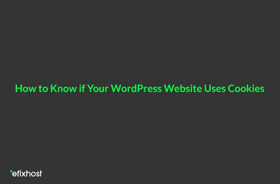 آیا سایت وردپرسی از کوکی استفاده میکند، رفع مشکل کوکی در وردپرس